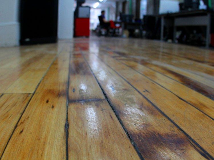 Rip up wall-to-wall carpeting