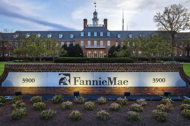 Fannie Mae's headquarters are in Washington. Mark Calabria, director of the Federal Housing Finance Agency, says that the number of mortgage forbearance requests at Fannie Mae and Freddie Mac are under 2% of the total portfolio, so far.